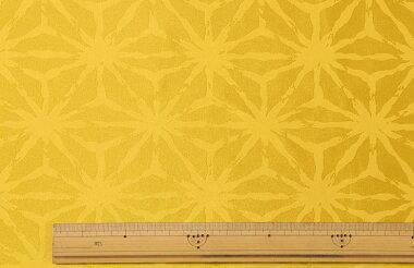 麻の葉(大柄)【ポリエステル150cm巾生地布】
