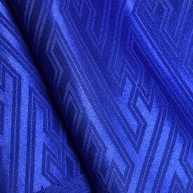 新色追加!【12色展開】奥山オリジナルカラー 紗綾形 (さやがた) サテンジャガード 和柄織 【ポリエステル 112cm巾 生地 布】 発色鮮やか 和柄 オリジナルカラー 多色 よさこい 舞台衣装 ミュージカル インテリア