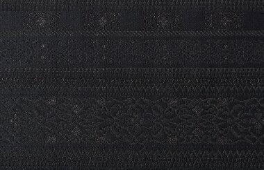 日本製帯地ゴブラン黒色72cm巾【生地布】