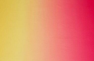シャイニーサテンイエロー〜ピンク【140巾グラデーション生地布]