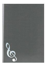 【送料無料・メール便】5シートクリアファイル 楽譜ファイル グランドピアノで5面の楽譜を簡単にセット/ポイント消化