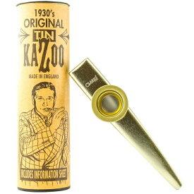 職人手作り カズー CLARKE METAL KAZOO クラーク メタルカズー カラー:ゴールド 送料無料 郵便