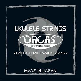 ORCAS フロロカーボン ウクレレ弦セット ソプラノウクレレ用 コンサートサイズ ライトゲージ(019〜022) OS-LGT 送料無料 郵便