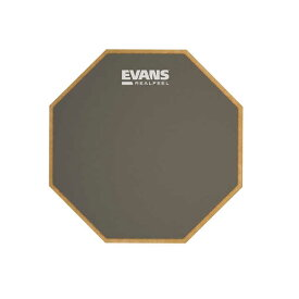 太鼓 スネア 6インチ練習用パッド EVANS ラバーパッド Mountable Speed Pad RF6GM(スタンド取付可能) 送料無料 郵便