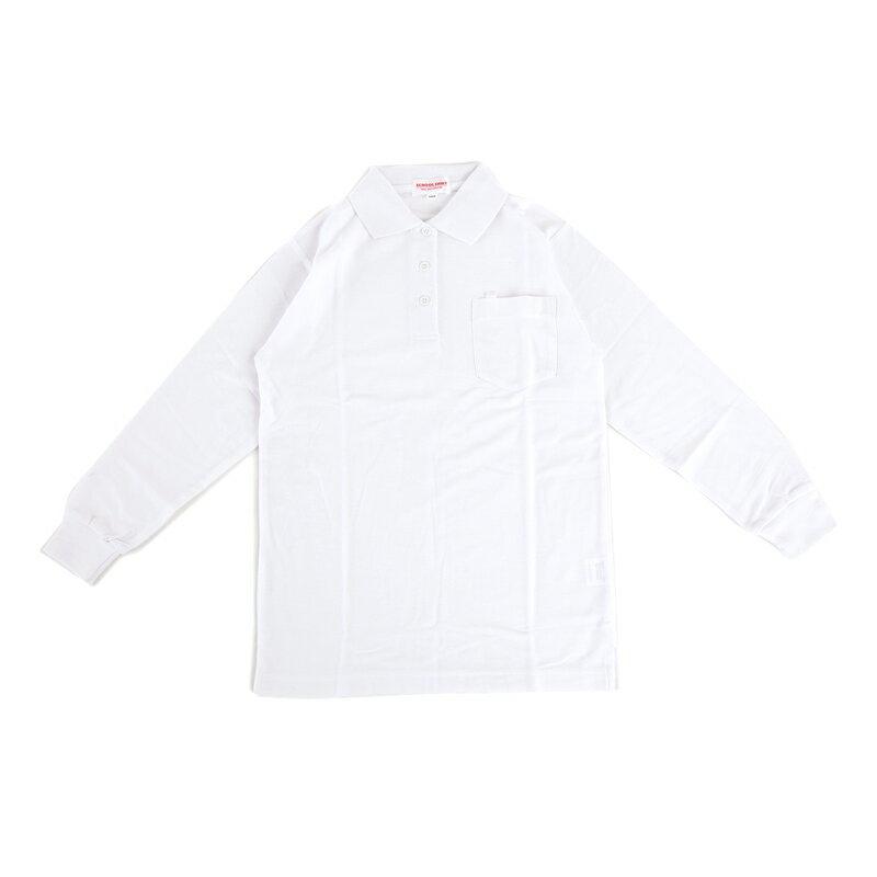 小学生制服 ポロシャツ 長袖 女子用 A体【返品・交換不可商品】