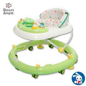 SmartAngel)エンジョイウォーカー ステップ2(グリーン)【歩行器】[ベビー 赤ちゃん おもちゃ 乳児 ベビーウォーカー ベビー用品 ベビーグッズ 赤ちゃん用品 赤ちゃんグッズ 子供玩具]