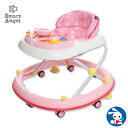 SmartAngel)エンジョイウォーカー ステップ2(ピンク)【歩行器】[ベビー 赤ちゃん おもちゃ 乳児 ベビーウォーカー …