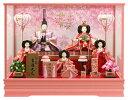 ★送料無料★雛人形 コンパクト 吉徳大光 ケース飾り 五人飾り 御雛 三五芥子[ひな人形 ひな祭り 雛祭り 桃の節句 女…