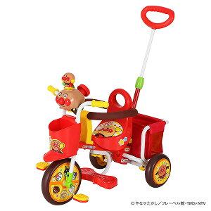 わくわくアンパンマンごう ピース2(レッド)[乗用玩具 三輪車 子供 子ども こども 3輪車 子供玩具 誕生日プレゼント 玩具 乗り物 キッズ 幼児 アンパンマン]