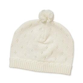 181dc82aac3c9  EFD 新生児梵天付きニット帽子 40-42cm
