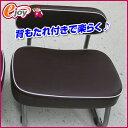 楽々チェアー背付き ST−BR0002 (正座椅子 TV座椅子 リビングチェアー 法事用椅子)