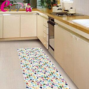 貼ってはがせる床リノベシート 90cm×180cm カラフルガラス ( リノベーション 床シート シール 模様替え フローリング 床デコ DIY)