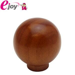 WAKI 木製つまみ ダークブラウン 32mm TW-334 4903757163348