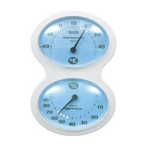 タニタ 温度計 アナログ 温湿度計 TT-509 ブルー 4904785550926