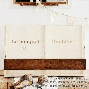 木製ファイルスタンド W (受注生産)