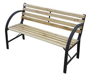 パークベンチ1人用(パークベンチベンチチェアガーデンチェア屋外ベンチ木製天然木アンティークレトロオシャレ)