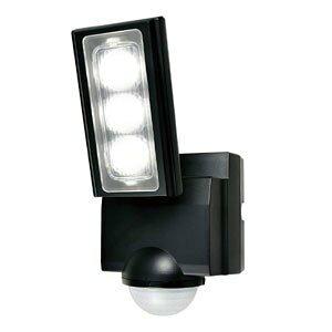 エルパ LEDセンサーライト 1灯 乾電池式 ESL-311DC