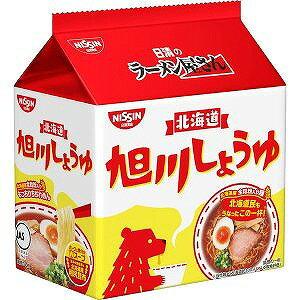日清のラーメン屋さん 旭川しょうゆ味 5食パック×6個