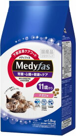 ペットライン メディファス 11歳から チキン味 1.5kg(250g×6)