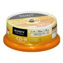ソニー データ用CD−R 700MB 1-48倍速 20CDQ80GPWP(20枚)