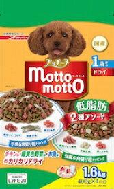 プッチーヌ motto motto ドライ 1歳から低脂肪 小魚&豆腐入り 1.6kg