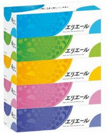 【エリエール】エリエールティシュー 180組(360枚)5箱パック