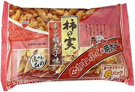 阿部幸製菓 柿の実 辛子明太子味 150g