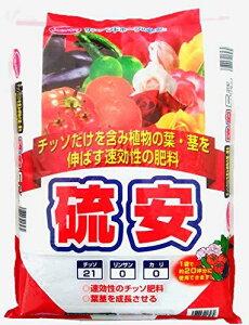 葉や茎の生育を促進 園芸 趣味の園芸 硫安 5kg