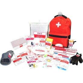 山善 防災バッグ 非常用 装備品 アイテム30点セット リュック 消耗品 防災 持ち運び 簡易