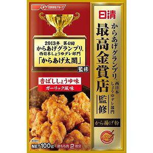 日清フーズ からあげグランプリ最高金賞から揚げ粉ガーリック風味100g