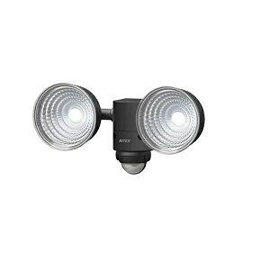 ムサシ 5W×2灯 LEDセンサーライト (LED-AC210)