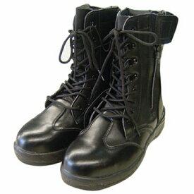 【コーコス信岡】 HZ−703ZIPLOA長編ブーツ ブラック 28cm