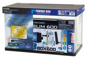 【お買い得な水槽セット】プログレ600 5点 LED