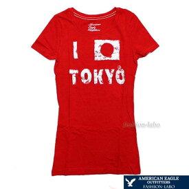 【メール便送料無料】アメリカンイーグル AMERICAN EAGLE レディース Tシャツ 半袖 半そで トップス 0303 2019 女性 彼女