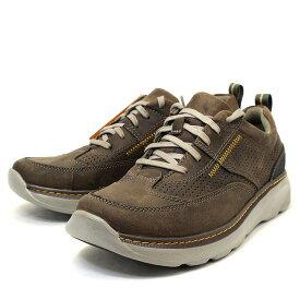 【23,24,25日ポイント3倍】クラークス Clarks スニーカー 靴 革靴 カジュアルシューズ Charton Mix 本革 レザー ブラウン 茶色 メンズ ブランド 男性向け 人気 新品 未使用 cl26115001