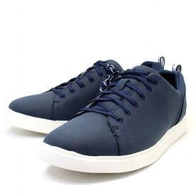 クラークス Clarks スニーカー 紳士靴 メンズ カジュアルシューズ クラウドステッパーズ Step Verve Lo ネイビー 紺色 メンズ ブランド カジュアル スポーツ ウォーキング 靴 紐靴 レースアップ 男性向け cl26133107