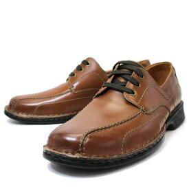 【23,24,25日ポイント3倍】クラークス Clarks 靴 革靴 レザー ビジネスシューズ カジュアルシューズ 本革 ブラウン アンティーク加工 メンズ ブランド 26133171