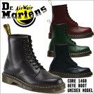 ドクターマーチンDr.Martens革靴ブーツ8ホールメンズレディースレザー本革ブラックチェリーグリーンブランドdm1460
