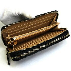 長財布メンズluminioルミニーオラウンドダブルジップクロコダイル型押し本革ウォレットロープチェーン財布luyon150106