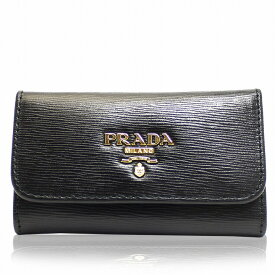 プラダ PRADA キーケース 6連 ブラック ブランド レディース アウトレット 1pg222-vimo-nero 2019 女性 彼女