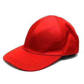 【4/3限定全品ポイント3倍】プラダ PRADA キャップ 帽子 ナイロン ロゴプレート レッド アウトレット ブランド レディース 6パネルキャップ テスートナイロン ベルクロ M L サイズ調整 2hc274-te-rosso 2020 春夏 新作 女性 彼女