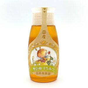 国産 純粋 晩白柚蜂蜜 500gチューブ入り はちみつ 西岡養蜂園 にしおか 非加熱
