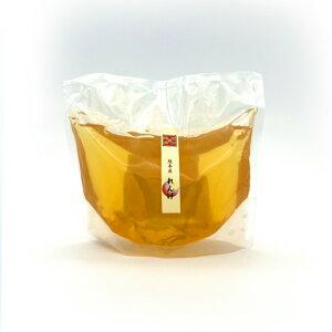 国産 純粋 れんげ蜂蜜 480g袋 はちみつ 西岡養蜂園 にしおか 非加熱 詰め替え用