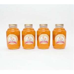 国産 純粋 百花蜜 2kg4本セット 蜂蜜 はちみつ 西岡養蜂園 にしおか 非加熱 業務用