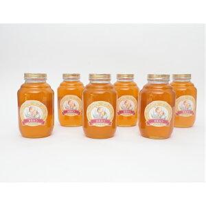 国産 純粋 百花蜜 2kg6本セット 蜂蜜 はちみつ 西岡養蜂園 にしおか 非加熱 業務用