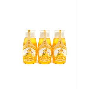 【お得な3本セット】 「蜂蜜専用チューブ」 国産純粋みかん蜂蜜 500g×3本 西岡養蜂園 にしおか