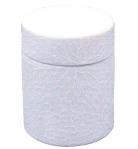 ネジ式ミニ骨壷「和織」(瀬戸焼) 花菊(骨壷単品)
