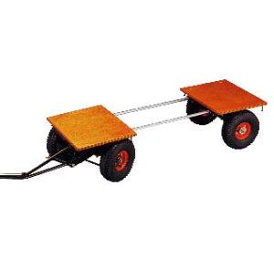石材運搬車 伸縮小型馬力車W型(ノーパンクタイヤ)【表示送料は北海道・沖縄・離島を除く】【代金引換・後払い決済不可】