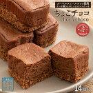 ケーキ送料無料チョコレートケーキちょこチョコ14個セット西内花月堂〔スイーツお菓子ケーキ洋菓子チョコケーキ小判型お取り寄せスイーツ食べきりサイズお手軽〕