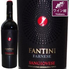ファンティーニ・サンジョヴェーゼ・テッレ・ディ・キエティ【ヴィンテージは順次変わります】ファルネーゼイタリアワイン[赤・イタリア] ギフト 750ML